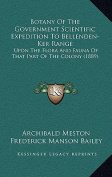 Botany of the Government Scientific Expedition to Bellenden-Ker Range