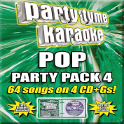 Party Tyme Karaoke - Girl Pop Party Pack 4 [Box]
