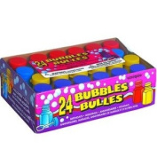 Assorted Colour Party Bubbles 0.6 oz - Pack of 24