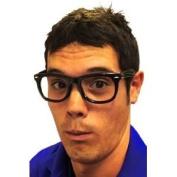 Black Frame, Framed Character Nerd, Glasses