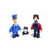 Postman Pat Figure Tube - Pat, Ted & Jess
