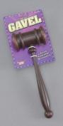 Brown Judges Hammer Gavel Court Room 'Order' Fancy Dress