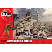Airfix A02708 WWII Africa Korps 1:32 Scale Series 2 Plastic Figures