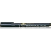 PILOT BLACK 0.1mm DRAWING PEN WATERPROOF PIGMENT INK