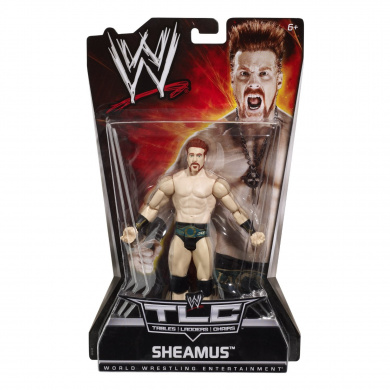 WWE Mattel PPV 8 Tables Ladders Chairs Sheamus Wrestling Action Figure