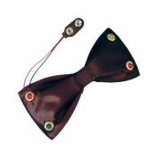 Flashing Bow Tie Black