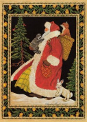 Santa & Animals Holiday Cards