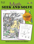 Lorenz Corporation TLC10558 Math Seek and Solve- Grade 1-4
