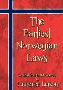The Earliest Norwegian Laws