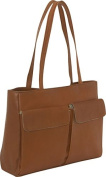 Two Pocket Tote (Vachetta Tan)