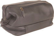 Toiletry Bag w/Zippered Bottom Compartment