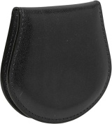 Old Leather Coin Purse (Black)