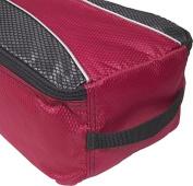 Shoe Bag (Raspberry)