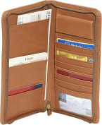 Leather Zip Travel Organizer