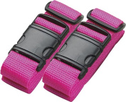 Neon Luggage Belt - set of 2