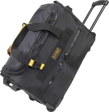 "EXPANDABLE 20"" Rolling Trolley Duffel"