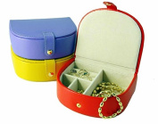 Leather Small Bow Front Jewel Box