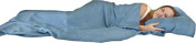 Dreamsacks Sleeping Bag Size Travel Silk Sheets - Side Opening