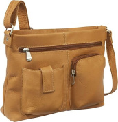 Two Pocket Crossbody (Tan)