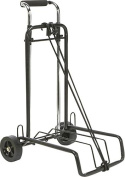 Folding Luggage Cart (Silver)