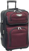 """Amsterdam 21"""" Expandable Carry-on Rolling Upright"""