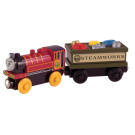 Thomas Wooden Railway Engine - Victor & The Engine Repair Car