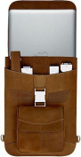 "Premium Leather 13"" Flight Jacket for all 13"" MacBooks"