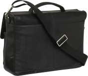 "Jackson 15"" Leather Laptop Brief"