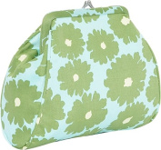 Nora Clutch (Poppies Green)