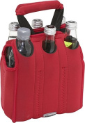 Six Pack Neoprene Tote (Red)