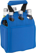 Six Pack Neoprene Tote (Blue)
