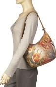 Hobo with Side Pockets - Premium Floral Safari