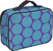 Big Dots Aqua Lunch Box