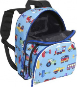 Olive Kids Trains, Planes & Trucks Pack 'n Snack Backpack