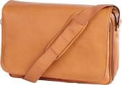 Leather Laptop Mailbag / Sling