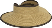 Roll Up Visor (camel)