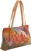 ANNA by Anuschka Large Shopper - Floral Butterfly