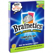 Brainetics Breakthrough Math and Memory System, Complete Set