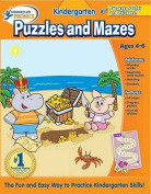 Hooked on Learning Kindergarten Puzzles and Mazes (Hooked on Phonics