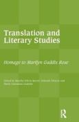 Translation and Literary Studies