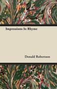 Impressions in Rhyme