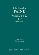 Mass in D, Op. 10 - Vocal Score [LAT]