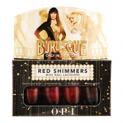 Extra 20% OFF OPI Burlesque Red Shimmers Mini Nail Lacquers, 1set
