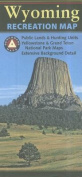 Benchmark Wyoming Recreation Map (Benchmark Maps