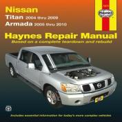fits Nissan Titan & Armada Service and Repair Manual