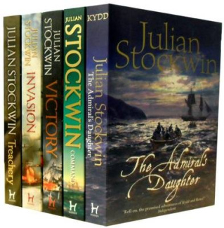 Thomas Kydd Series Collection: Victory, Invasion, Treachery, the Admiral Daughter and Command