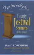 Festpredigten - Twenty Festival Sermons