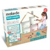 Makedo FM01003 Find and Make Dollhouse