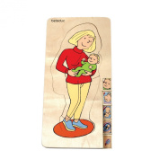 Beleduc Toys 5 Layer Puzzle - Pregnant