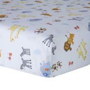 Lambs & Ivy S.S. Noah Fitted Crib Sheet